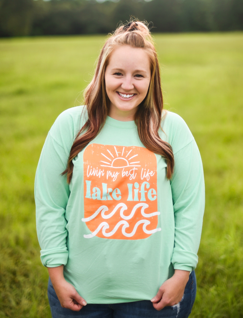 Best Lake Life Long Sleeve