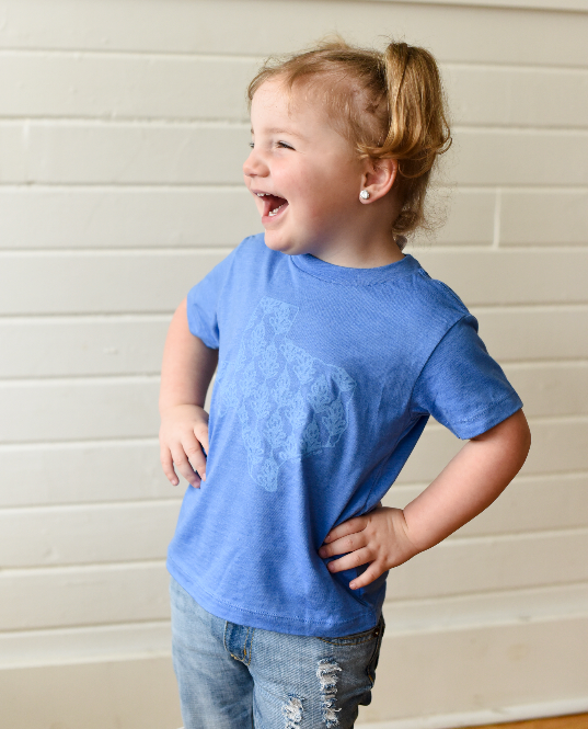 Bluebonnets Over Texas (toddler) - Sweet Tees + happy things