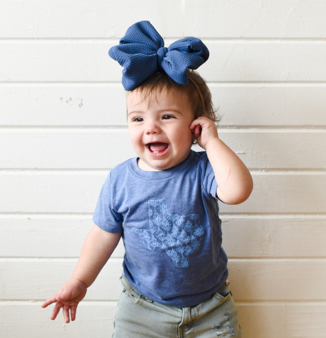Bluebonnets Over Texas (Baby) - Sweet Tees + happy things