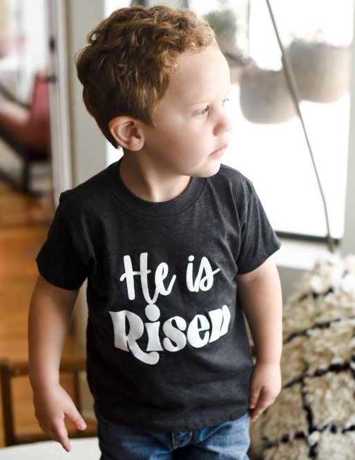 He is Risen (toddler) - Sweet Tees + happy things