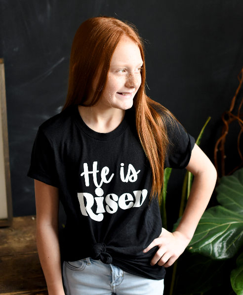 [Youth] He is Risen - Sweet Tees + happy things
