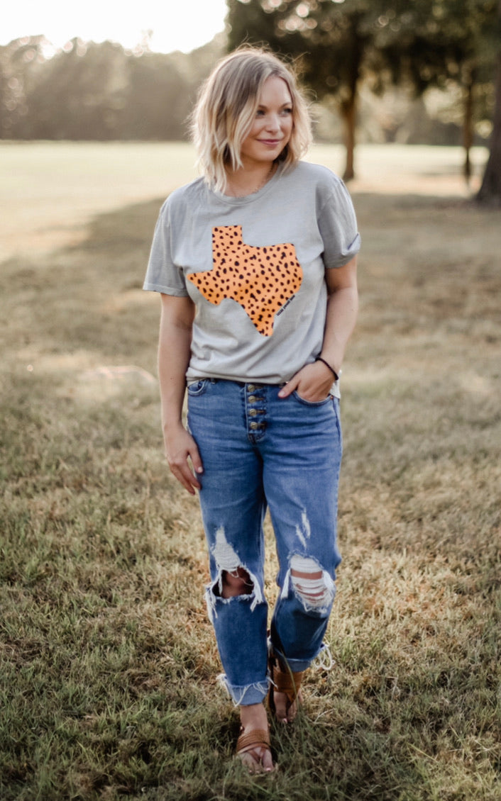 Chic Tx Tee [distressed]