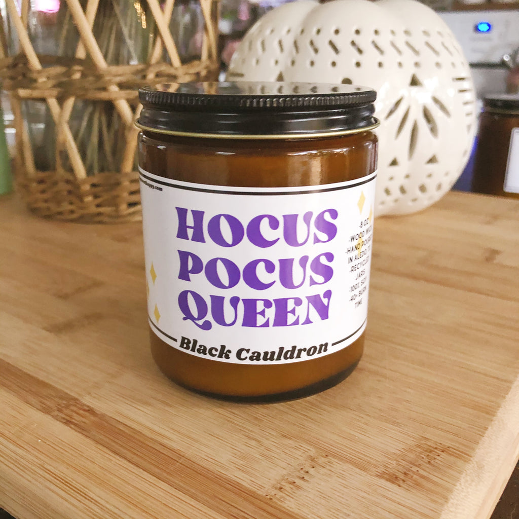 Hocus Pocus Queen Candle