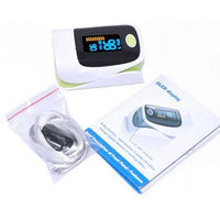 Fingertip Heart Rate Monitor with Pulse Oximeter - Groupy Buy