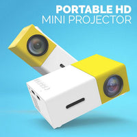 Portable Mini HD LED Projector - Groupy Buy