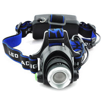 Rechargeable LED Head Torch - Groupy Buy