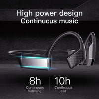 Bone Conduction Bluetooth Headset 5.0 Wireless Hanging Ear Type