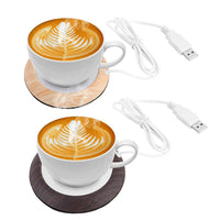 Cup Heater with USB Cable Insulation Coaster Heating Coaster