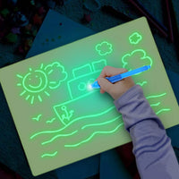 Children Drawing Luminous Writing Board