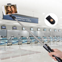Foldable Bluetooth Selfie Stick with Remote Control