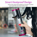 Wireless Auto-Rotating Hair Curler