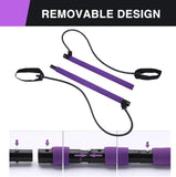 Home Pilates Bar Kit With Resistance Band