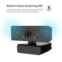 USB HD 1080P Webcam Built-in Microphone