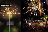 Solar Firework Lights 120 LED-one pack or two pack