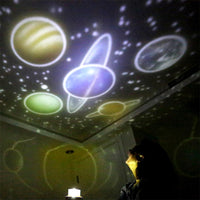 LED Projection Planet Night Light