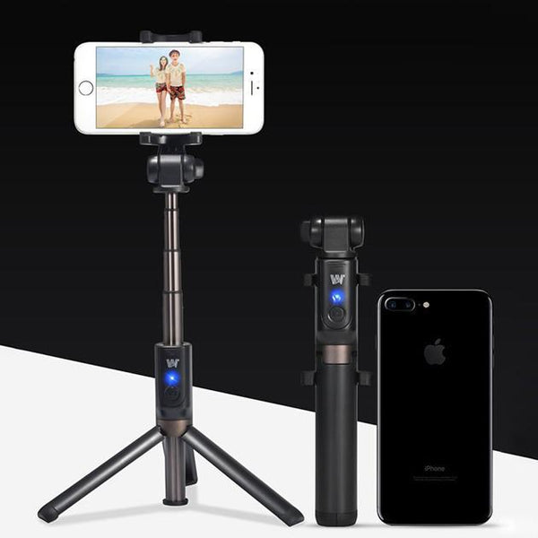 2-in-1 Bluetooth Selfie Stick with Tripod & Remote - Groupy Buy