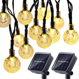 20&50 LEDS Crystal ball 5M&10M Solar Lamp