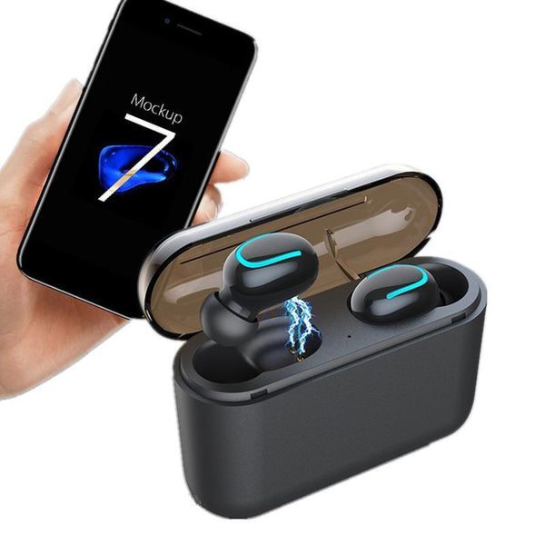 Wireless Bluetooth V5.0 In-Earbuds with Portable Charging Case - Groupy Buy