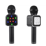5 in 1 Handheld Karaoke Microphone with LED Lights