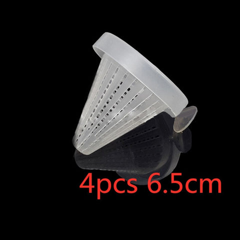 1pc or 4pcs  Fish Feed Funnel Tool Basket Feeder