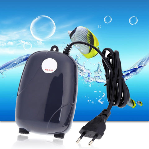 3W 5W Silent Adjustable Aquarium Air Pump 220V
