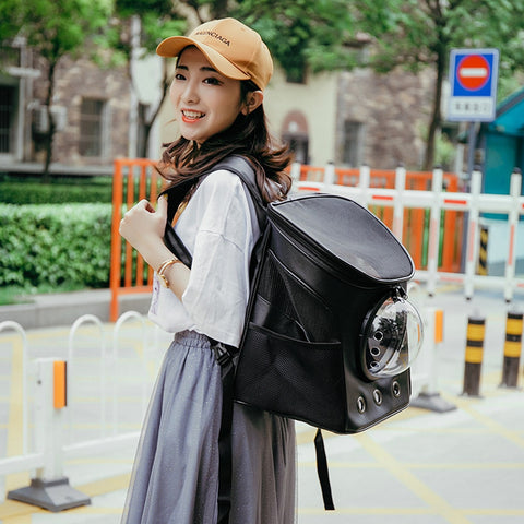 t Pet Backpack Outdoor Double Shoulder Bag