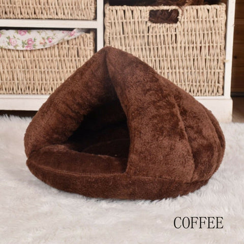 Pet Dog Cat Triangle Bed House
