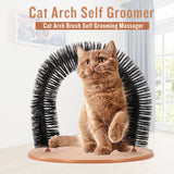 Arched Cat Hair Toys Arch Brush Self Catnip Bag Grooming Massager
