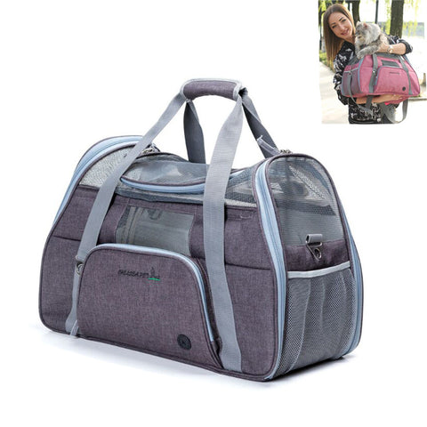Dog CAT Carrier Bag Portable Pet Backpack