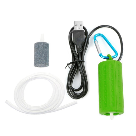 2019 Portable Mini USB Aquarium Fish Tank Oxygen Air Pump