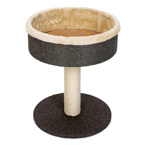 Cat Scratcher Tree Toy Wood Tower House Condo