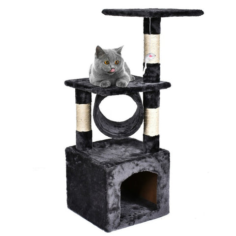 "36"" Deluxe Cat Tree Level Condo"