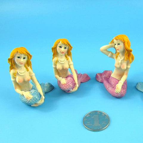 Mermaid creative aquarium decorations