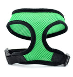 1PC Adjustable Soft Breathable Dog Harness Nylon Mesh Vest