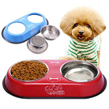 Stainless Steel Travel Feeding,  Water Bowl For Pet Dog Cat Puppy