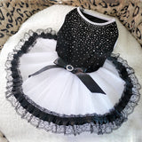 Dog Cat Tutu  Lace Dress