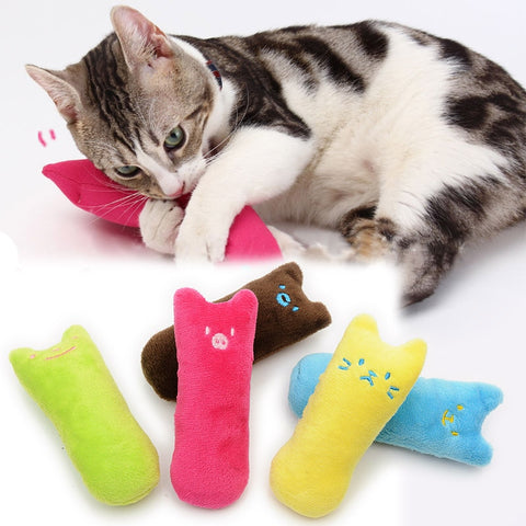 Teeth Pillow Funny Catnip Toy