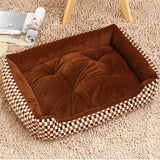 Dog Beds Sofa Warming Pet Bed Soft Fleece