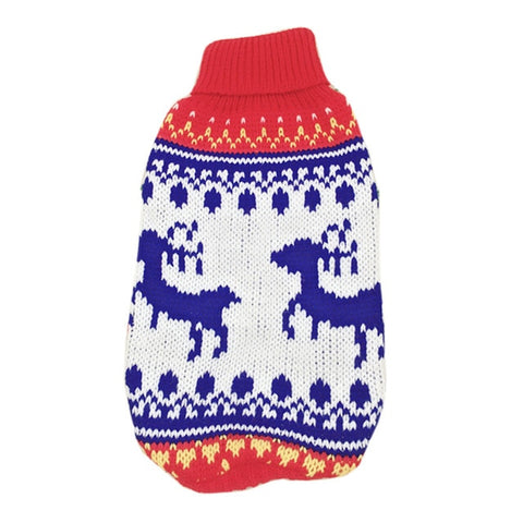 Pet Cat Reindeer Sweater