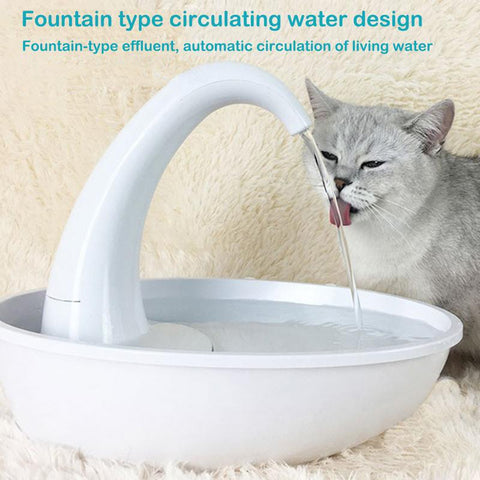 Automatic Cat Water Fountain 2.34L Electric Water Fountain