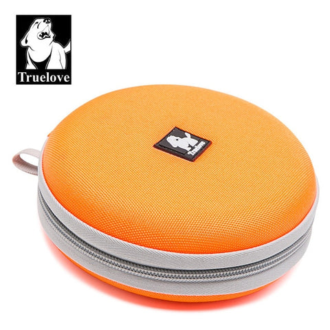 Truelove Foldable Pet Bowl Travel Collapsible 2 bowls for Water Food