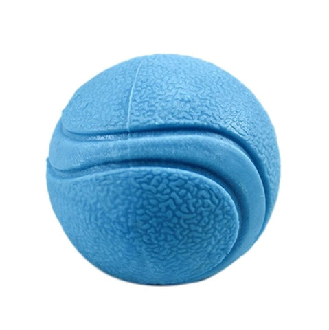 5/6/7cm pet dog training toy ball indestructible solid rubber ball chew