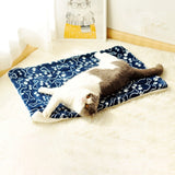 Sleeping Floor Cushion for Cats Dogs Thick Washable