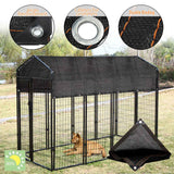 Dog Kennel House Cover Dustproof 80% Sunblock Shade Waterproof