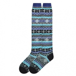 Jacquard Fair Isle Knee High