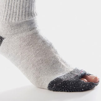 Recycle socks for Earth Day