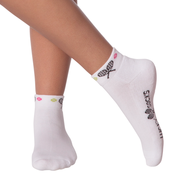 Women's Lucky Tennis Ankle Socks Cushion Ankle Socks