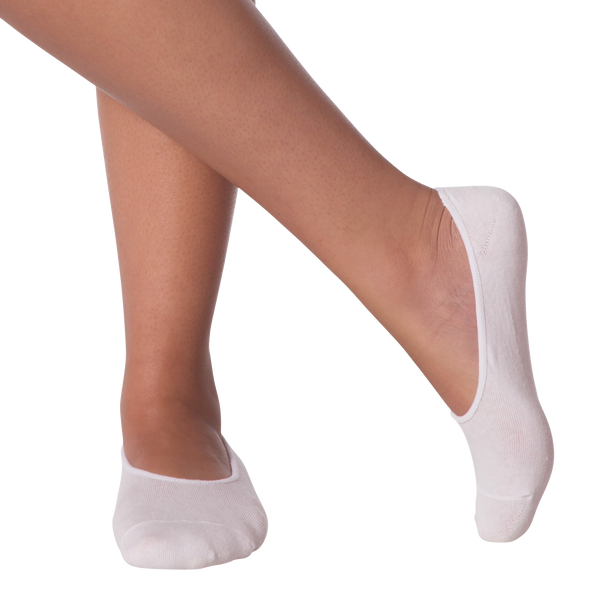 Women's Extreme No Show Socks Two Pair Pack