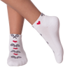 Women's Love Tennis Half Cushion Ankle Socks