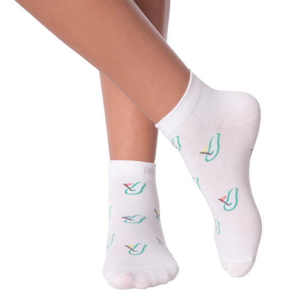 Women's PAR-Fection with Rhinestones Ankle Socks